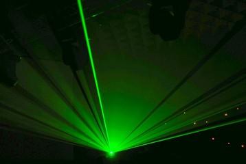 Laser faisceau droit