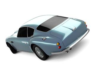 Light-blue Classical Sports Car