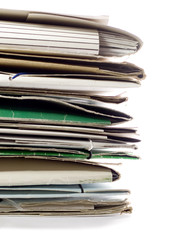 Pile of Documents and Files