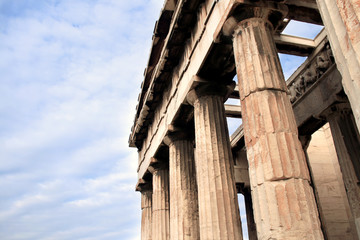 Athens, Greece - Temple of Hephaestus at the ancient agora