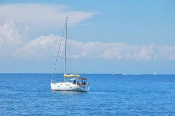 Vacation on a Sailboat