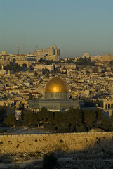 The Old City of Jerusalem Dome Of The Rock