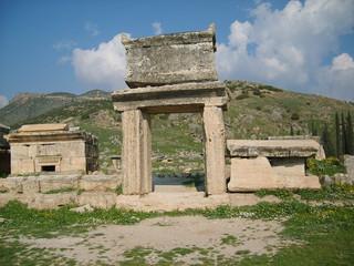 Site d'Hiérapolis en Turquie