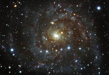 The Hidden Galaxy IC342