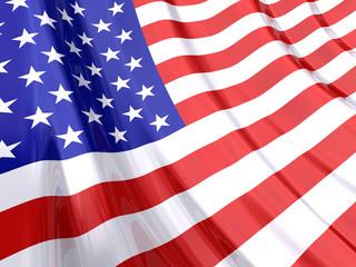 Glossy Flag of USA