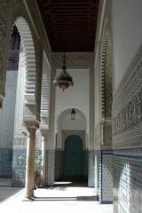 interni e decorazioni del palazzo presidenziale a Casablanca