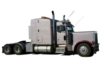 Wall Mural - TRACTEUR ROUTIER  USA ref 2334