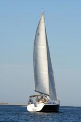 sailing through inlet