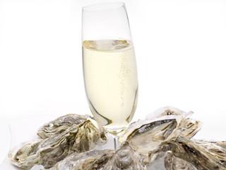 austern mit champagner