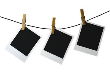 palaroid blank clothes-peg rope