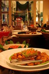 restaurant buffet dinner