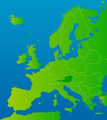 europa-karte österreich