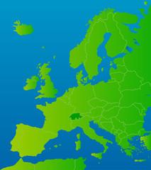 europa-karte schweiz