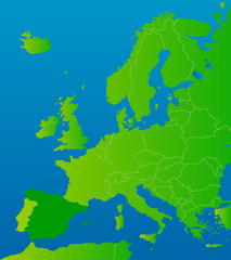 europa-karte spanien