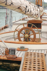 helm and deck