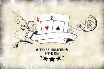 Poker grunge
