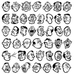 reactions on faces