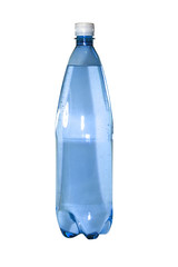 Bottle isolated on a white background..