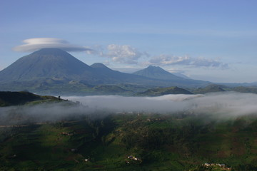 Kisoro Mountains