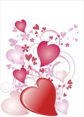 valentine background - vector