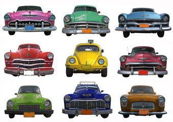 Collection of  Classic  Cars - Cuba
