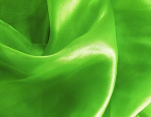 Green silk - texture