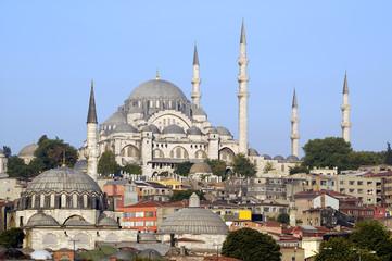 Istanbul, Turkey, Suleymaniye Mosque