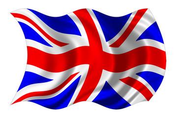 british flag isolated