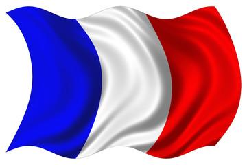 france flag isolated