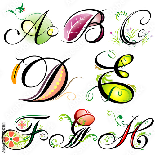 Embroidery Design H Plaid Alphabet from MA Designs