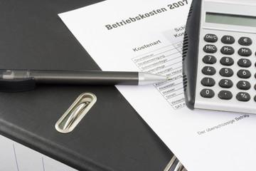 Mietnebenkosten - Betriebskosten