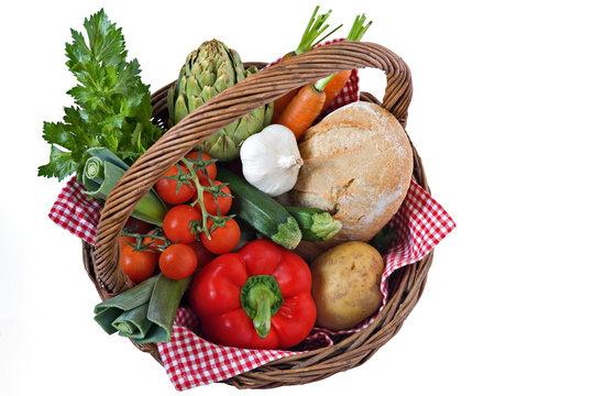 Panier de legume