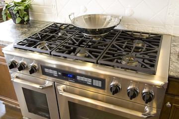 Luxury kitchen stove