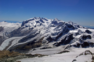 Hochgebirgstraum auf der Monte- Rosa