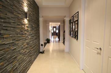 Designer hallway