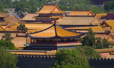 Photo sur Plexiglas Pékin Forbidden City, Emperor's Palace, Beijing, China