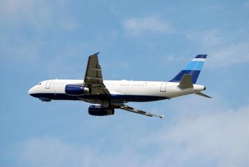 Modern passenger jet Airbus A-320