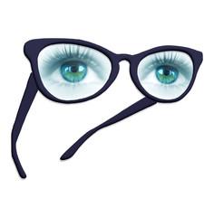 lunettes avec yeux
