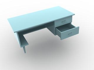 desk. 3d