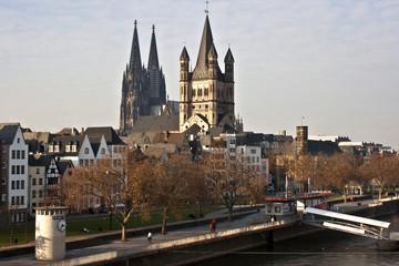 Kölner Dom und Sankt Martin
