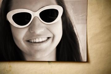 retro smile