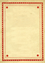 Vintage Decorative border Design