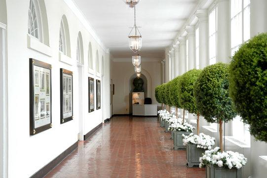 Sourth Corridor of the White House, Washington DC