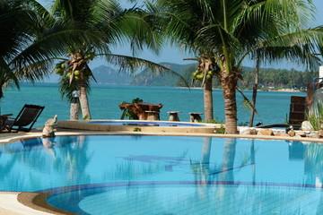 piscine et vue paradisiaque