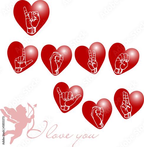I love you lsf cupidon fichier vectoriel libre de droits sur la banque d 39 images - Image de cupidon gratuite ...
