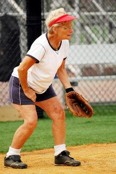 Senior Woman Catcher