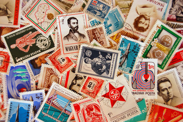 Timbres Hongrie Magyar