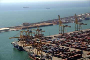 Barcelona - Containerhafen