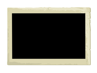 Old Photo Frame (vector or XXL jpeg image)