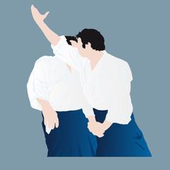 technique d'aikido - naname